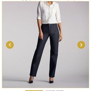 Denim-style Trousers